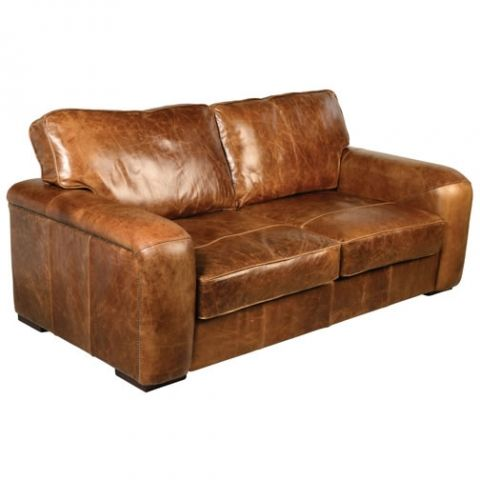 Maverick Vintage Leather 3 Seater Sofa Sofas Pinterest House
