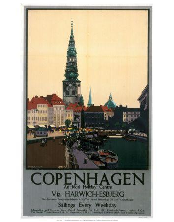 Kobenhavn Plakater Pa Allposters Dk Kunsttryk Plakater Danmark