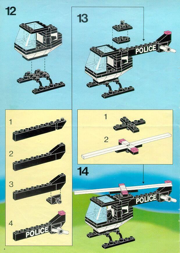 Police Police Command Base Lego 6386 Pokemon Nanoblocks