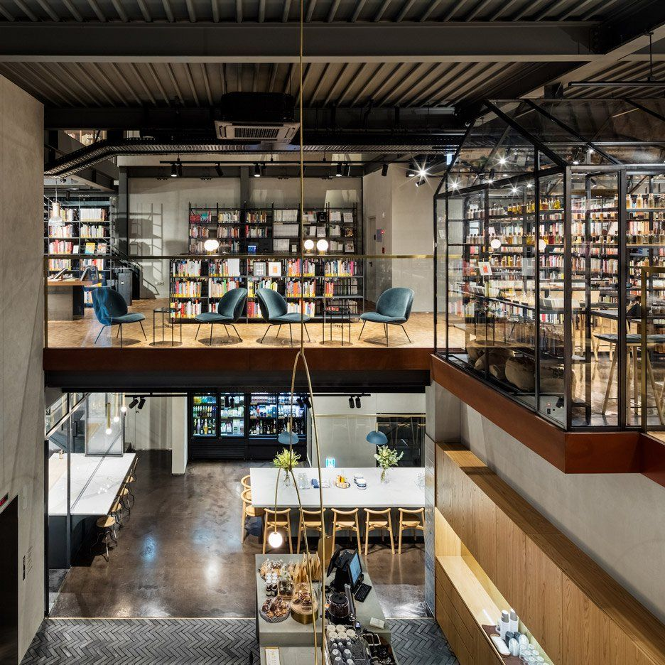 Blacksheep Design Studio Complete Hyundai Cooking Library In Seoul Interior Design London Factory Interior Cooking School Interior