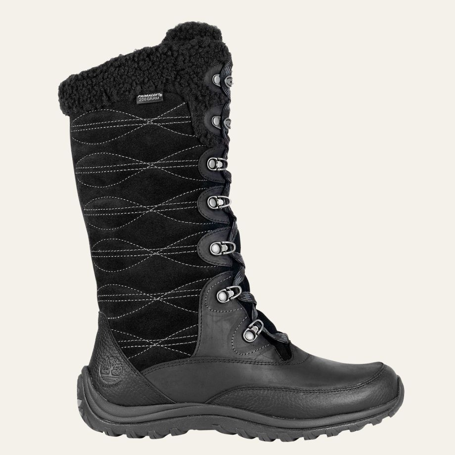 Timberland - Women's Willowood Waterproof Winter Tall Boots - Black