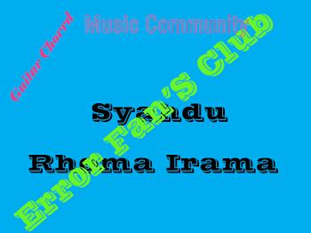 Syahdu | Rhoma Irama
