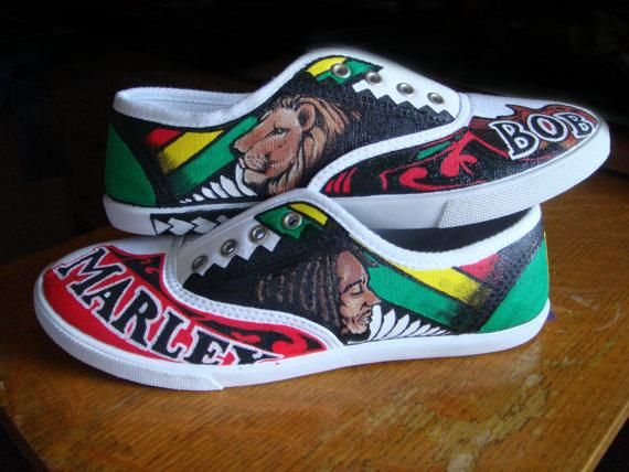 Bob Marley Shoes | Bob marley shoes