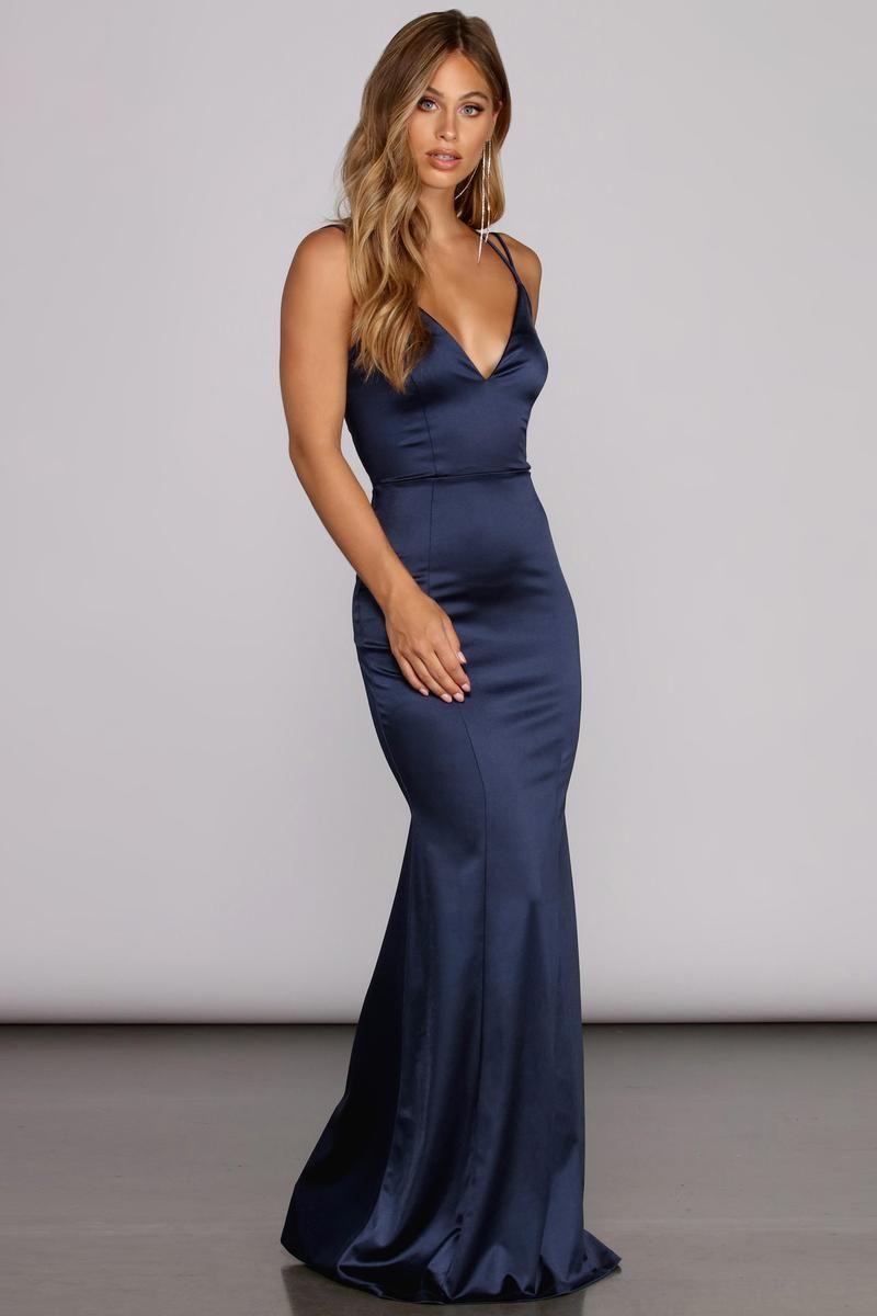 21++ Blue prom dresses tight inspirations