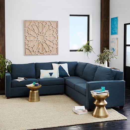 Henry 174 3 Piece L Shaped Sectional Fresh Start Family Room