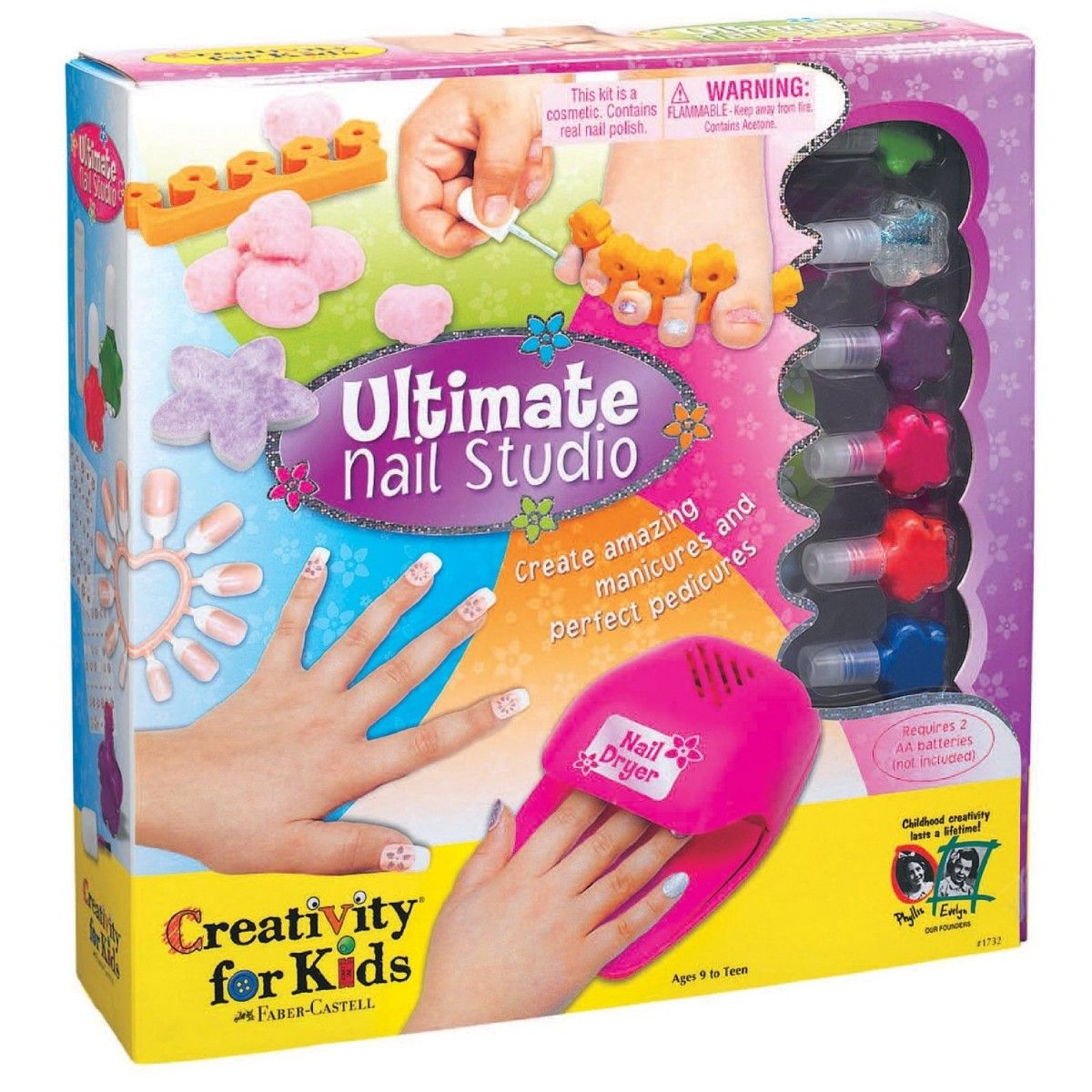 Create your own amazing manicures and perfect pedicures with this ...