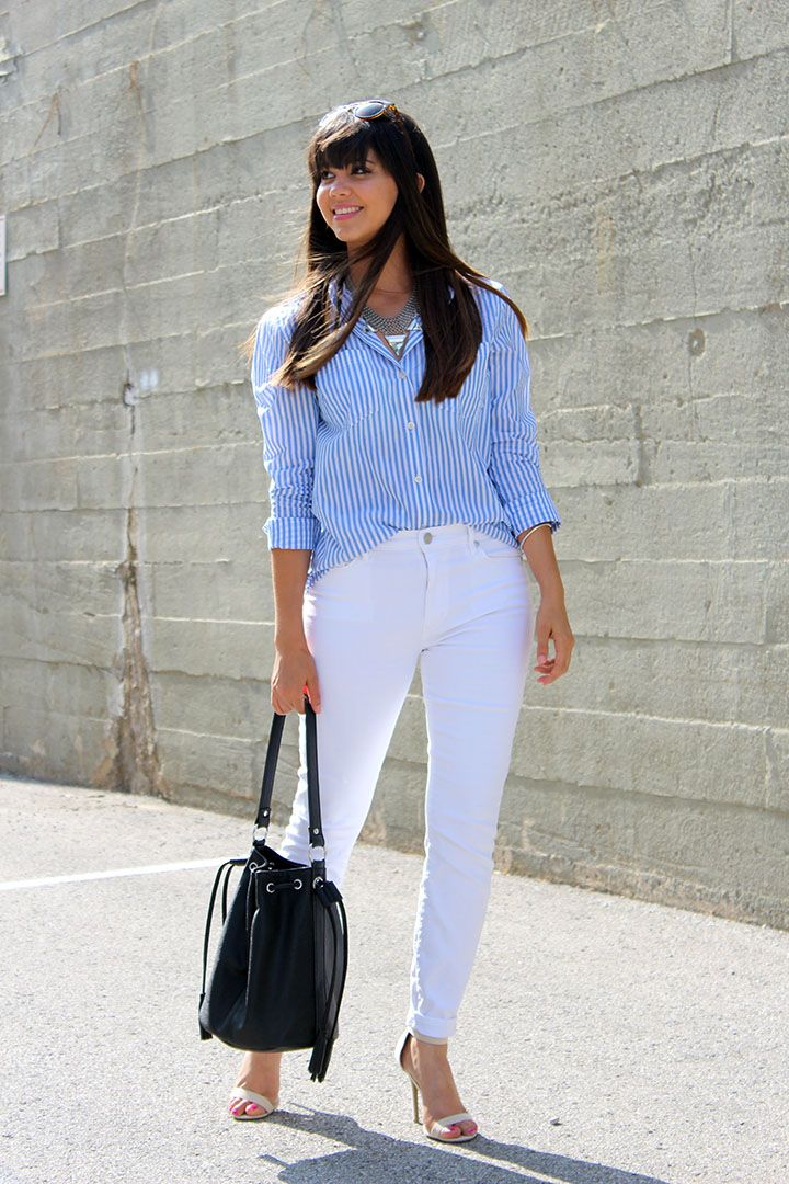 The Striped Shirt... www.mytrendyheart.com