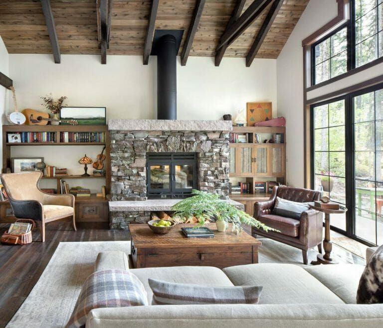 Modern Rustic Interior Design 7 Best Tips To Create Your Flawless Space Decorilla Online Interior Design Modern Rustic Living Room Rustic Living Room Rustic Interiors