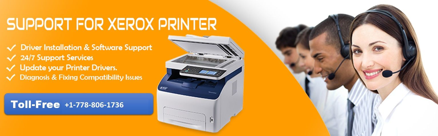 Xerox Printer Help Usa Number 1 778 806 1736 Call Our Customer
