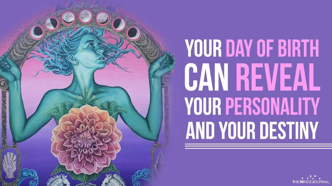 What Your Day Of Birth Reveals About Your Personality And Destiny Magic Gift Birth Reveal Magical Gift