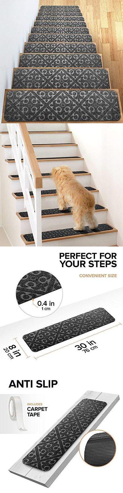 Best Stair Treads 175517 Elogio Carpet Stair Treads Set Of 13 400 x 300
