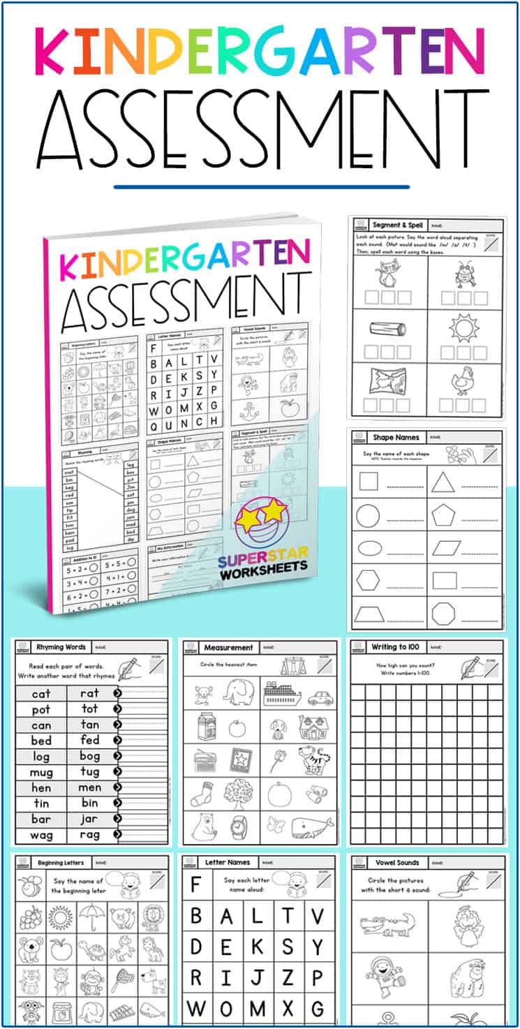 End Of The Year Kindergarten Worksheets