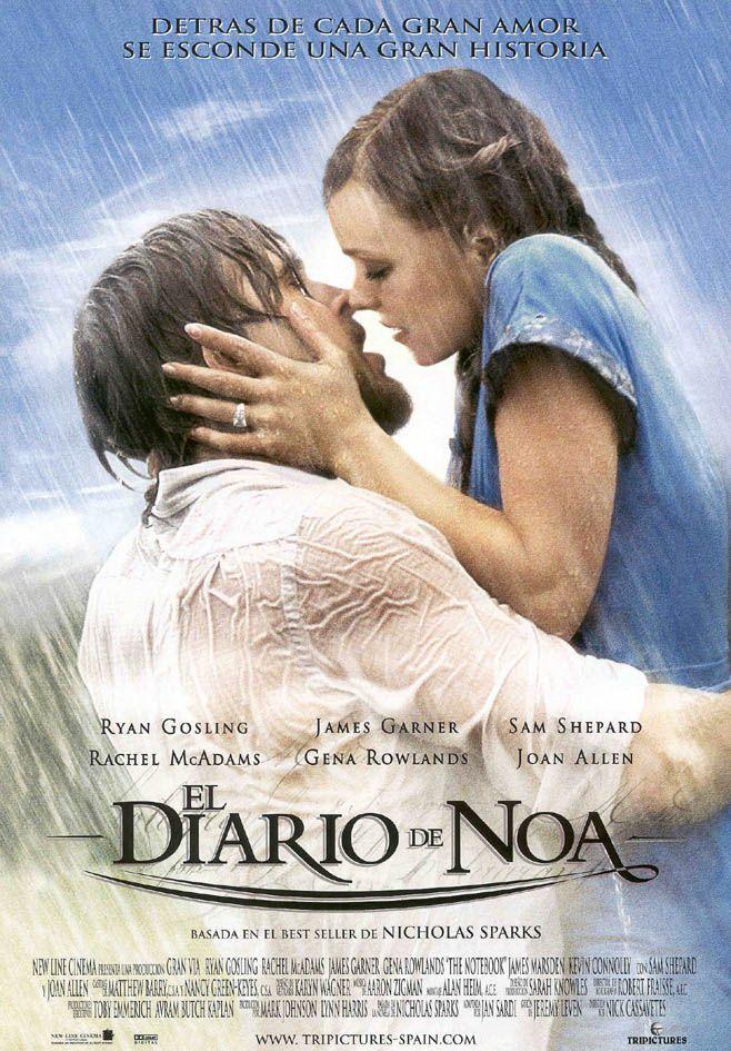 El Diario De Noa Peliculas De Amor Peliculas De Romance Mejores Peliculas Romanticas