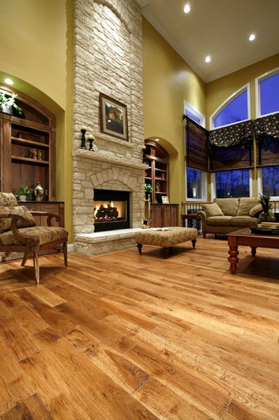 Prefinished Hardwood Flooring Plancher De Bois Franc Pré Verni Mercier Wood  Flooring, Hickory, Natural, Authentic. Www.mercier Wood Flooring.com |  Pinterest ...