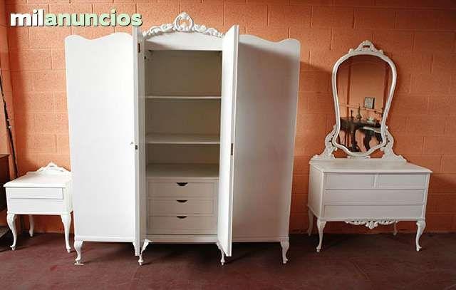 Restauraci n de muebles antiguos foto 1 diy wardrobes armoires dressers armoire dresser - Muebles nieto dormitorios juveniles ...