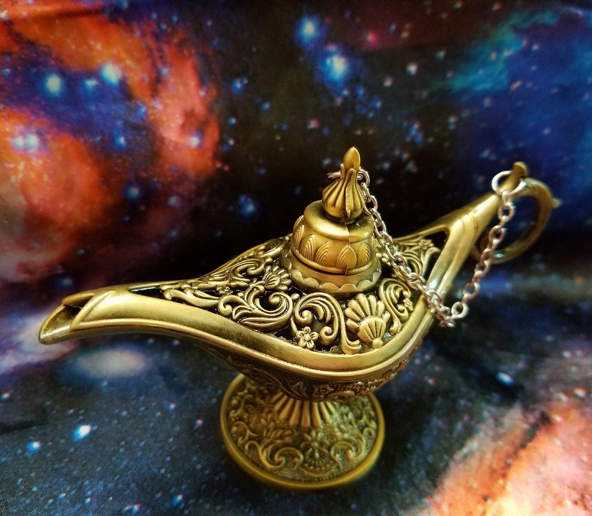 Mystical 2 Aladim Lampada E Tatuagem