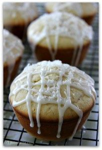 These melt-in-your-mouth poppyseed muffins are made with lemon and coconut and will dance on your taste buds. Bakerette.com