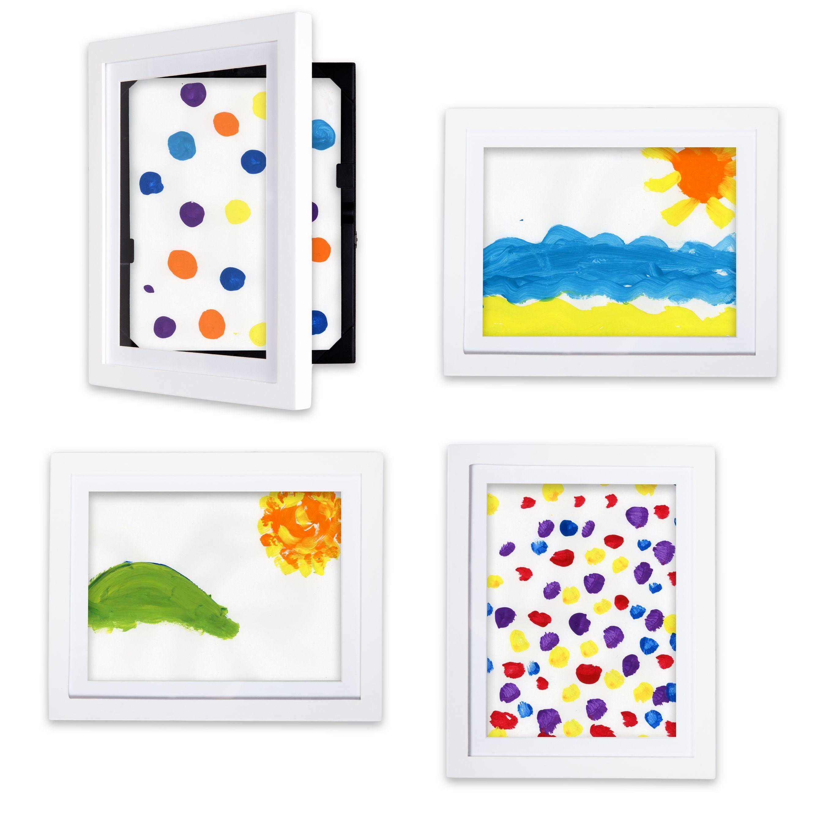 Save 16 5 Lil Davinci 8 5 X11 Art Gallery Displaying Childrens Artwork Frame Kids Art Art Display Kids