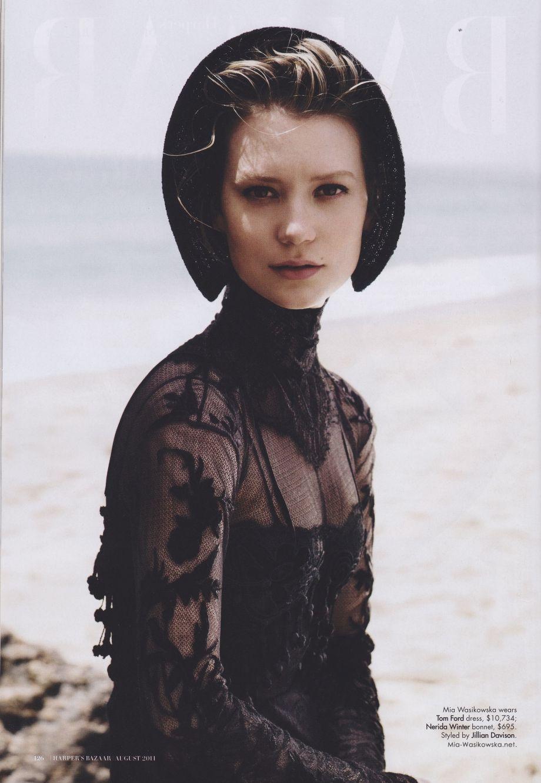 Image result for mia wasikowska photoshoot