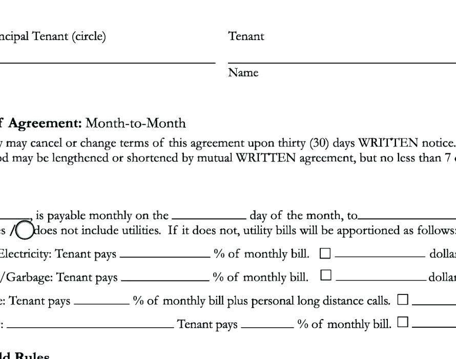Termination Of Lease Agreement Template Unique Tenancy Termination