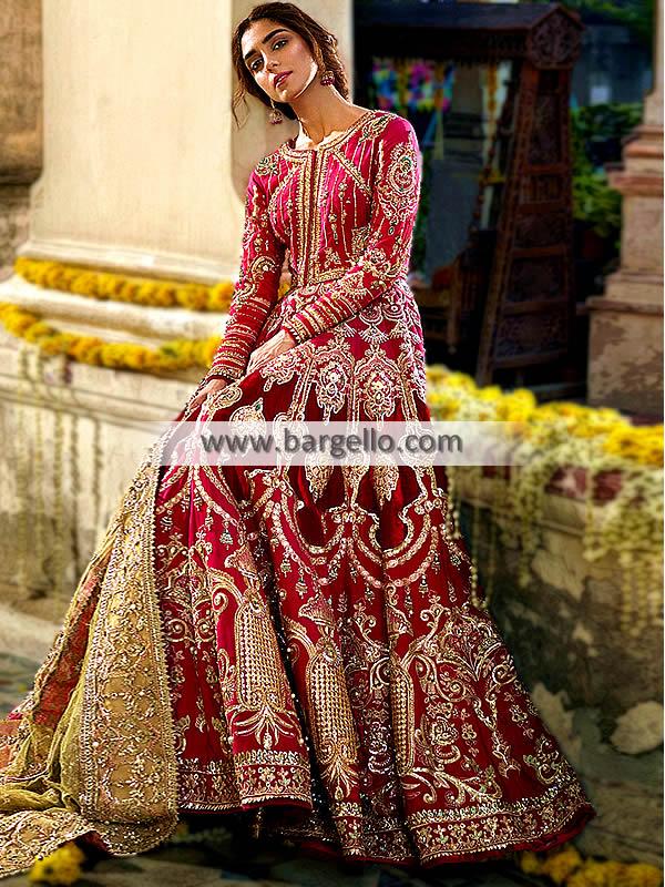 Mohsin Naveed Ranjha Wedding Dresses Bridal Wear Barat