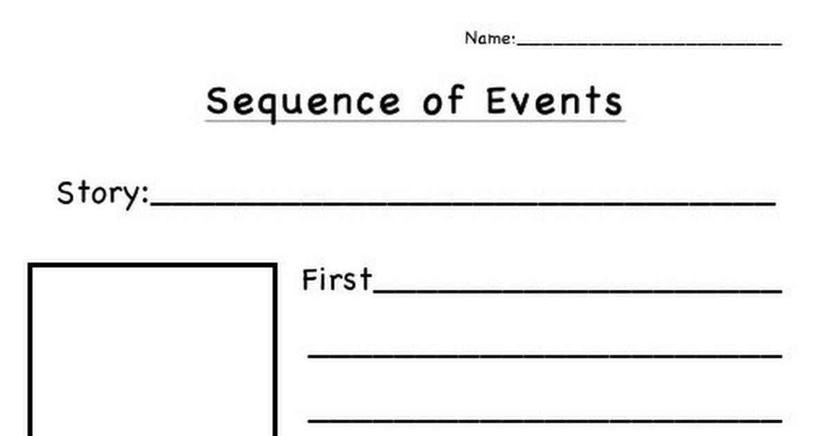 Sequence of events pdf