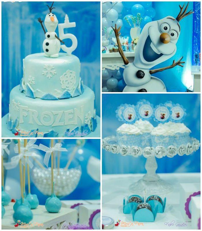 Diseos de pasteles de Frozen para fiestas Frozen themed birthday