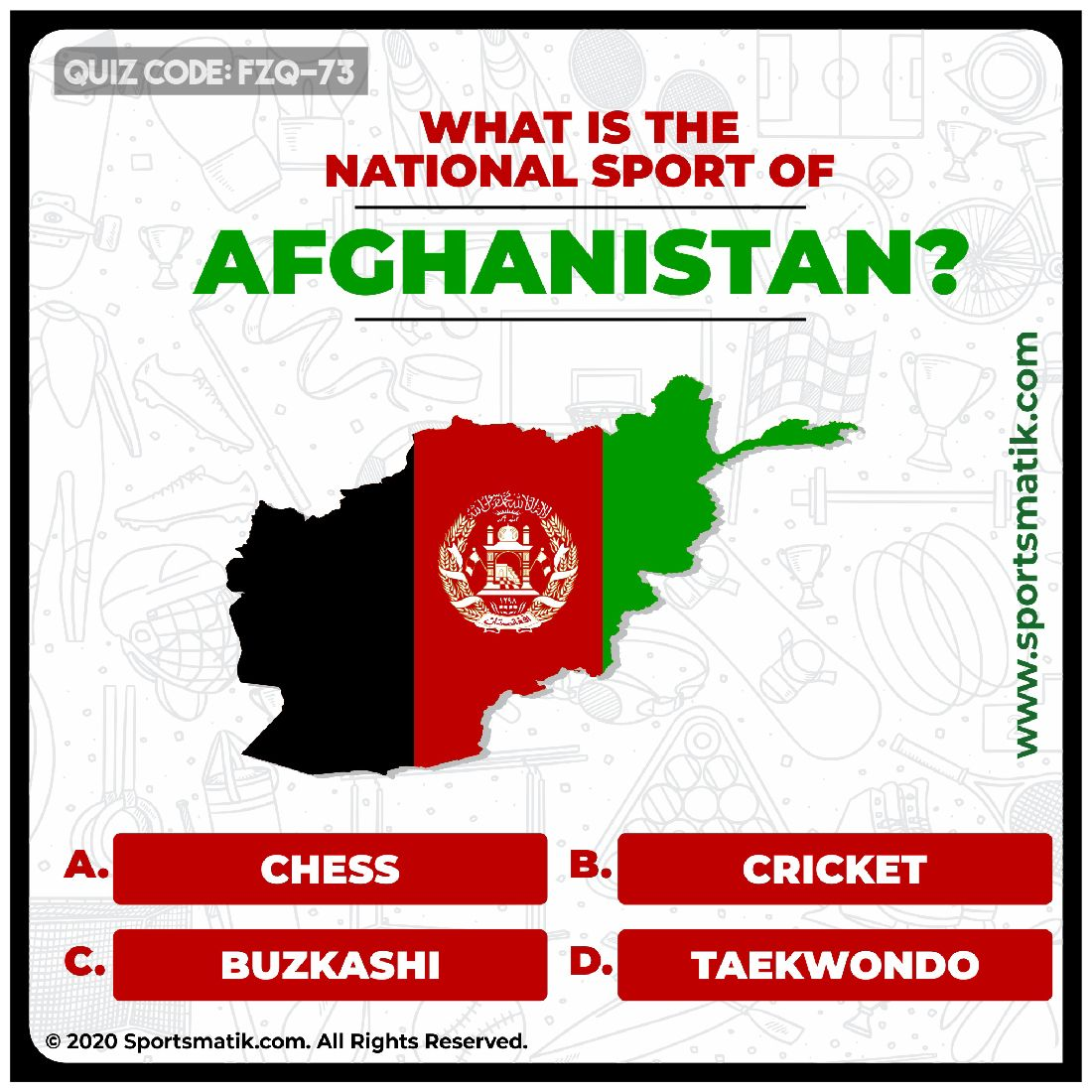 What is the national sport of Afghanistan in 2020 | Sports ...