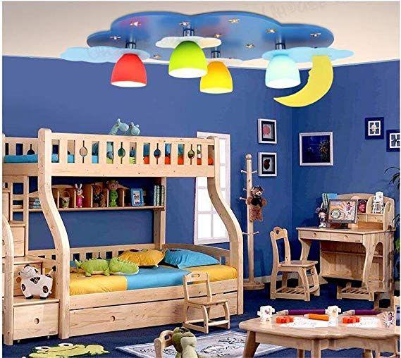 Blue Star Kinderzimmer Deckenleuchte Led Kreative Beleuchtung Warme