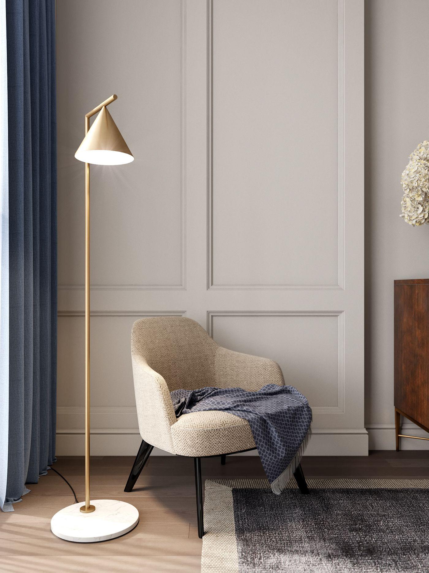 Modern Classics In The Interior On Behance Dengan Gambar