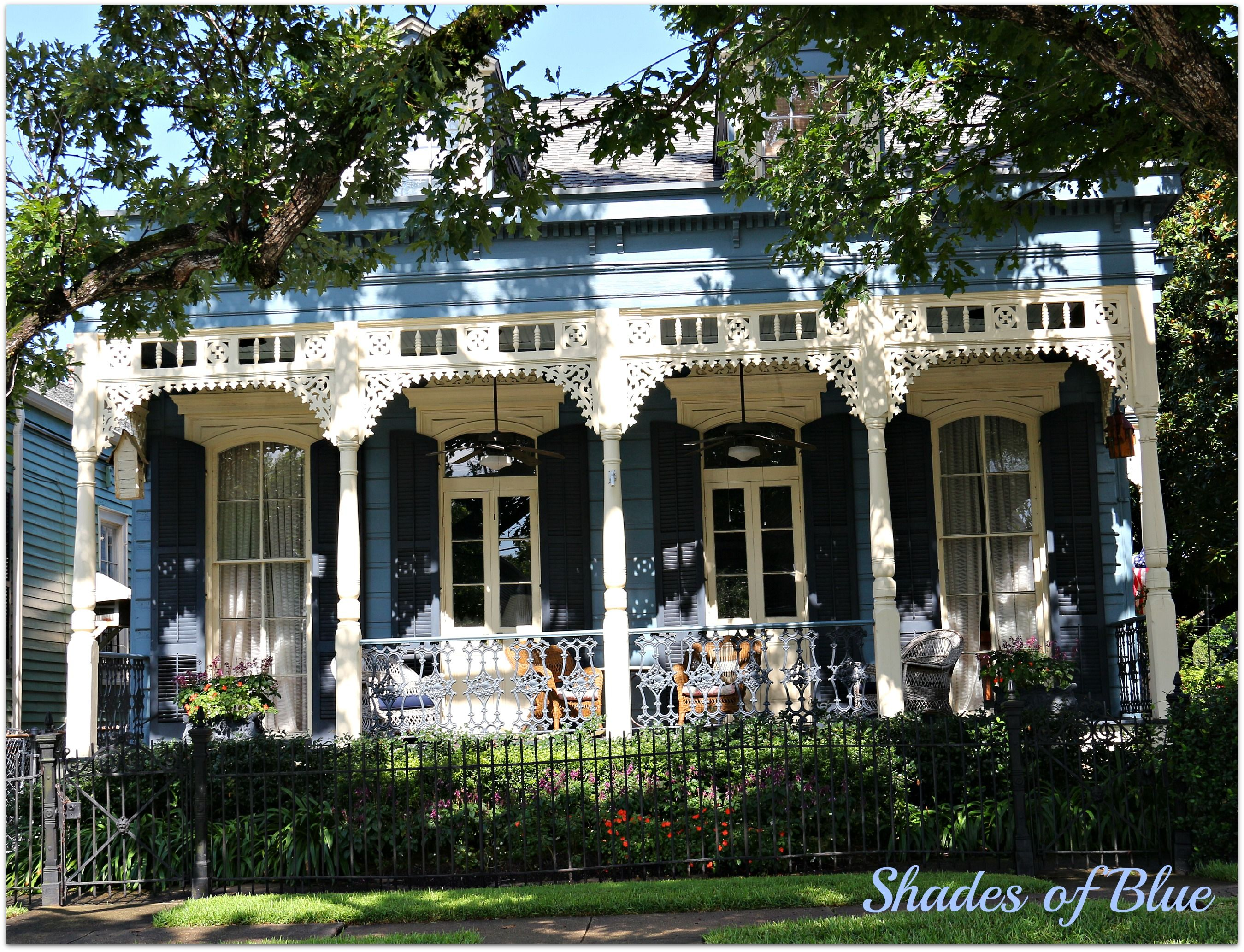 New Orleans Homes And Neighborhoods Garden District Homes Photos New Orleans Shotgun Double