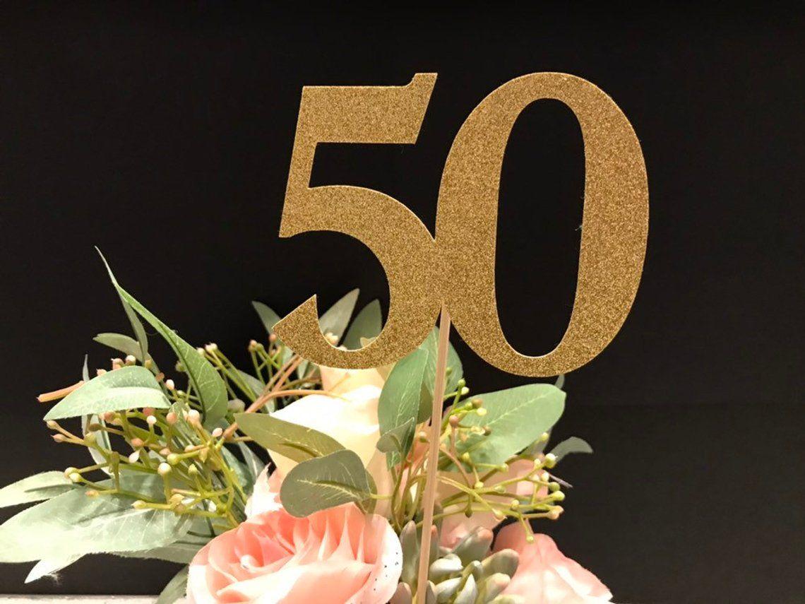 50th Birthday Centerpiece Sticks Glitter 50th Birthday Etsy Birthday Centerpieces 50th Birthday Party Centerpieces 50th Birthday Centerpieces