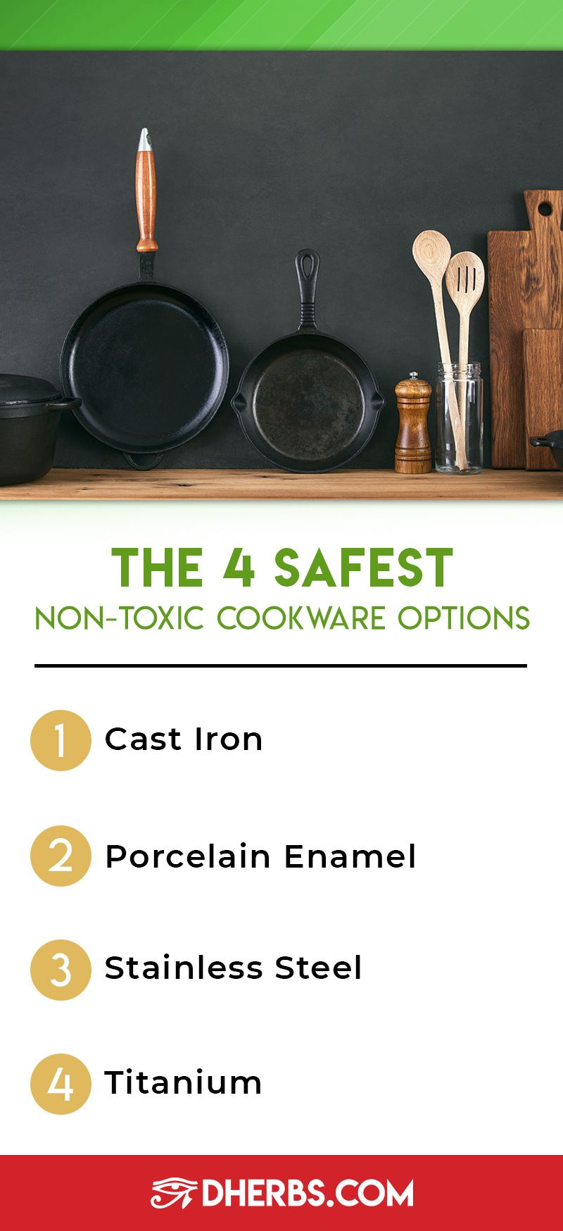The 4 Safest NonToxic Cookware Options in 2020 Non