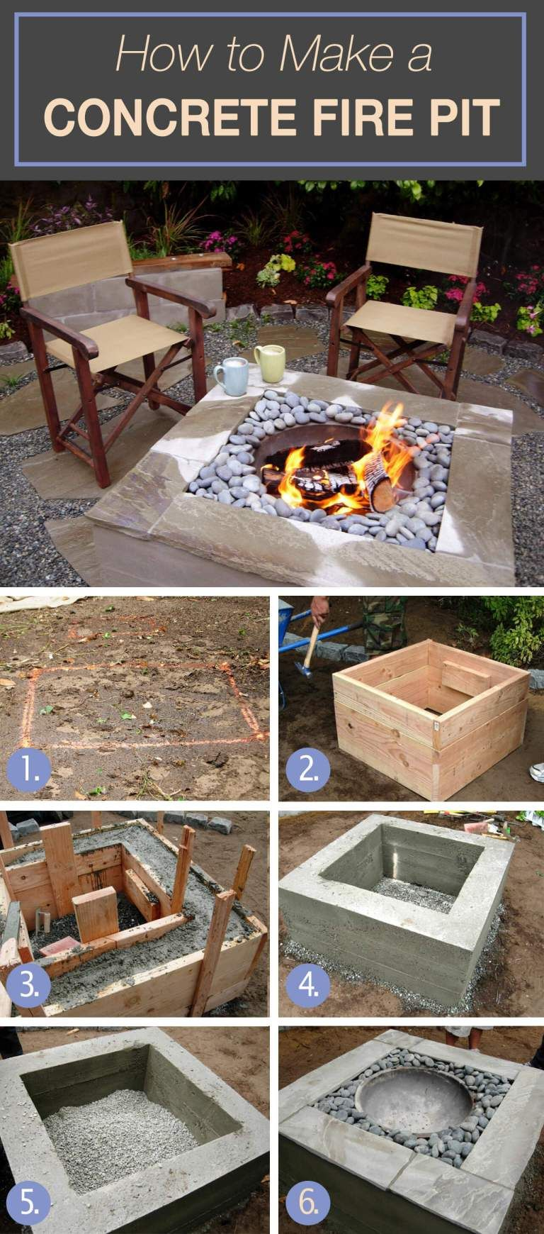 Photo of 12 Easy and Cheap DIY Outdoor Fire Pit Ideas – The Handy Mano