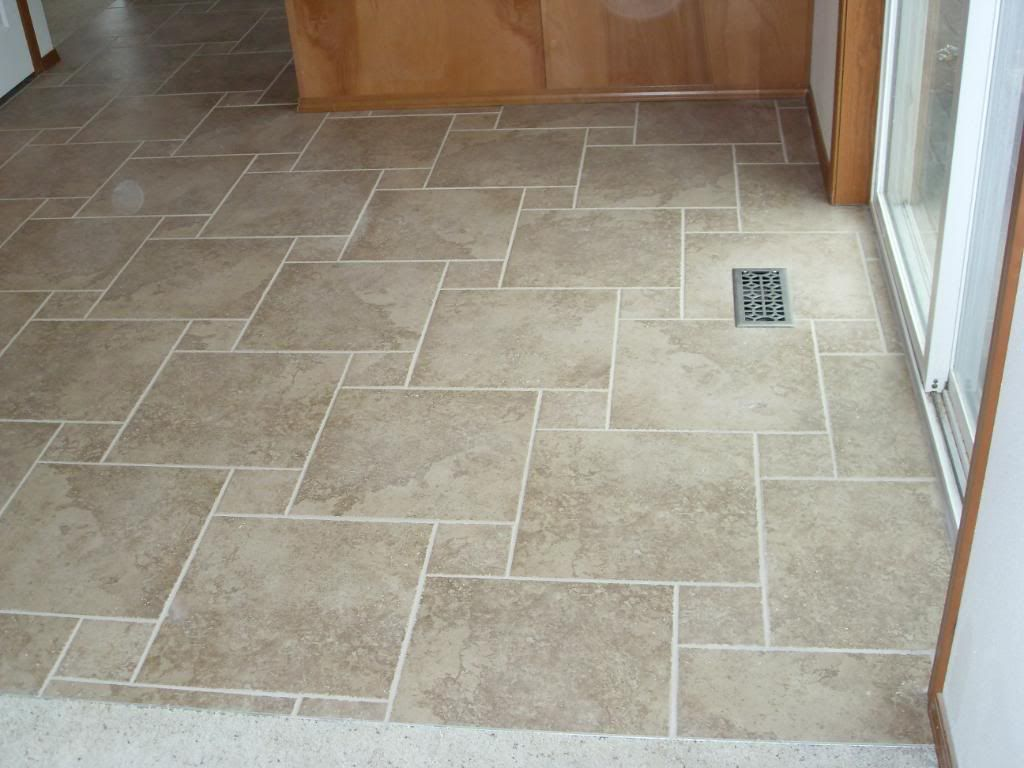 Kitchen Floor Tile Layout Patterns