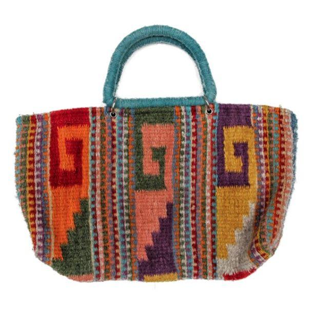 Peruvian Bag Handmade Fully Lined 13