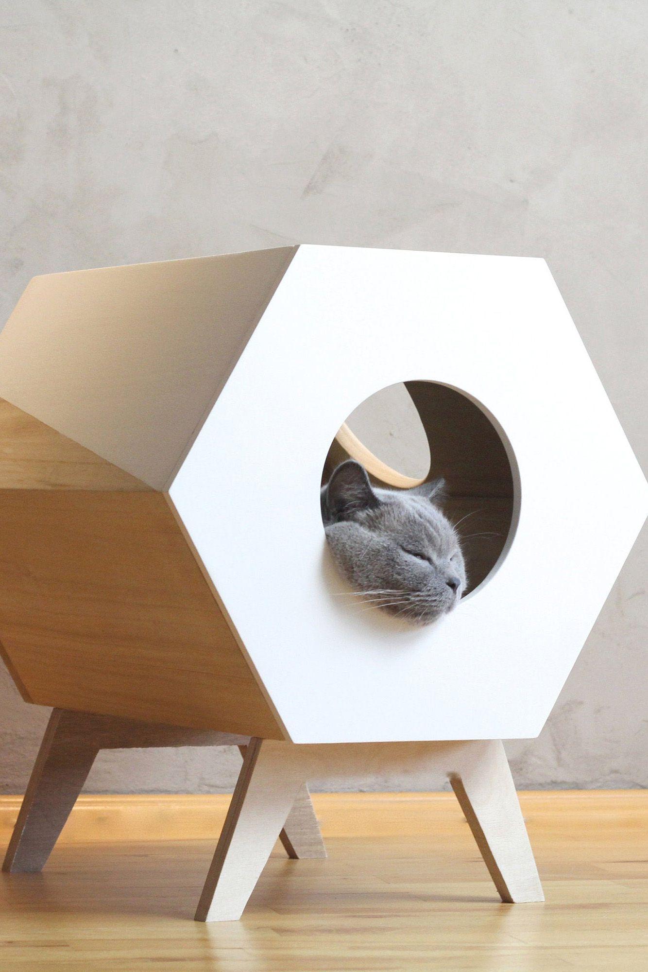 Cat Furniture Design Cat House Modern Cat Bed Pet Furniture