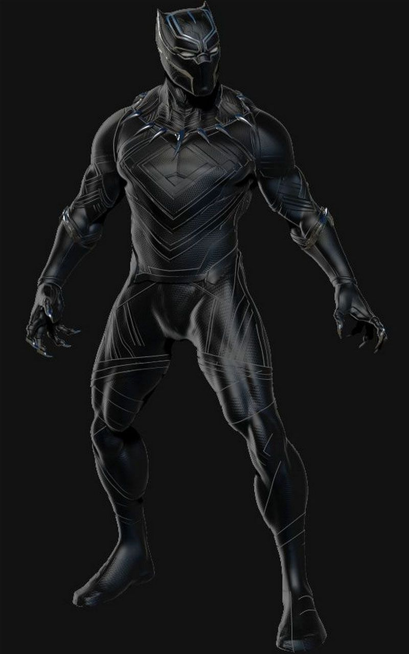 Blackpanther Neon Wallpaper Black Panther Image T Challawallpaper Wakanda Wallpaper Black Panther Wa