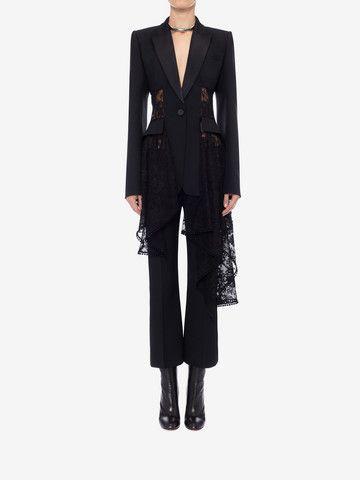 8fdbba818e Lace Drape Corset Jacket