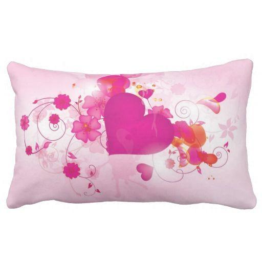 Royal Heart Lumbar Pillow