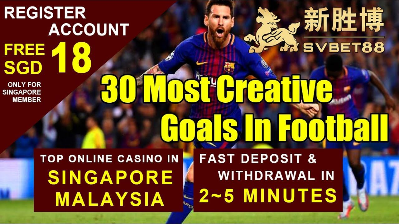 30 Most Greative Goals In Football🌟 svbet88🆕🆒🆙BEST COMPANY