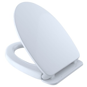Toto Softclose Elongated Closed Front Toilet Seat In Cotton White Ss114 01 The Home Depot Elongated Toilet Seat Toilet Seat Cover Toilet Seat