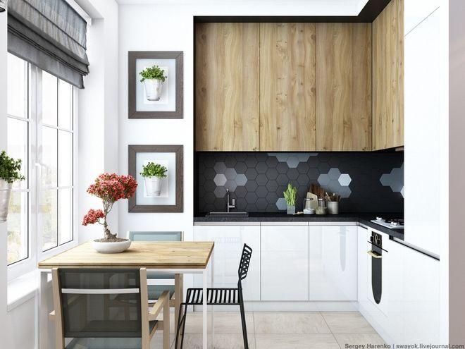 Minimalistisch Küche by Sergey Harenko | Drei Ebenen – drei Designs ...