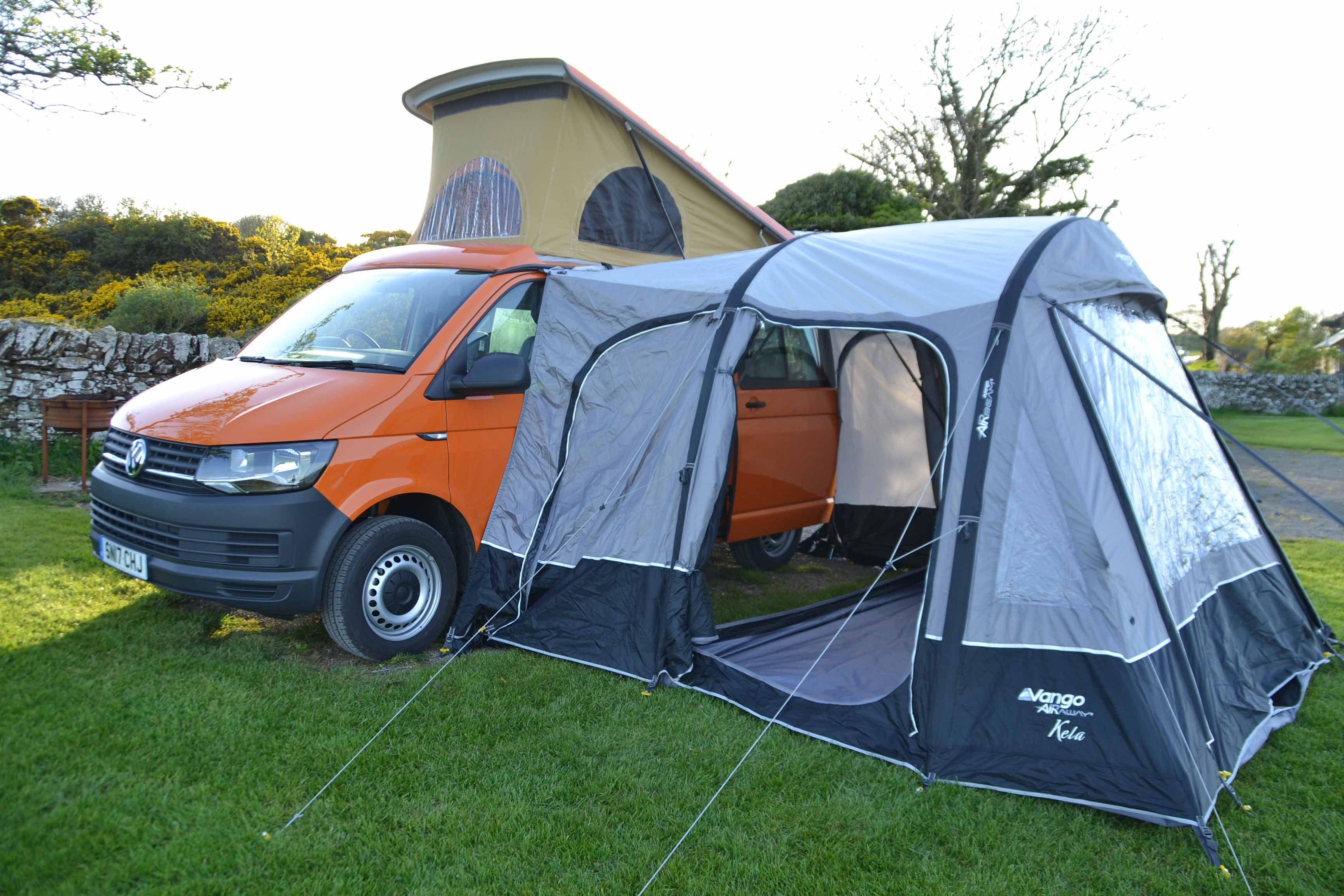 Image Result For Camper Van Rear Door Tent Tent Camping Hacks Tent Camper