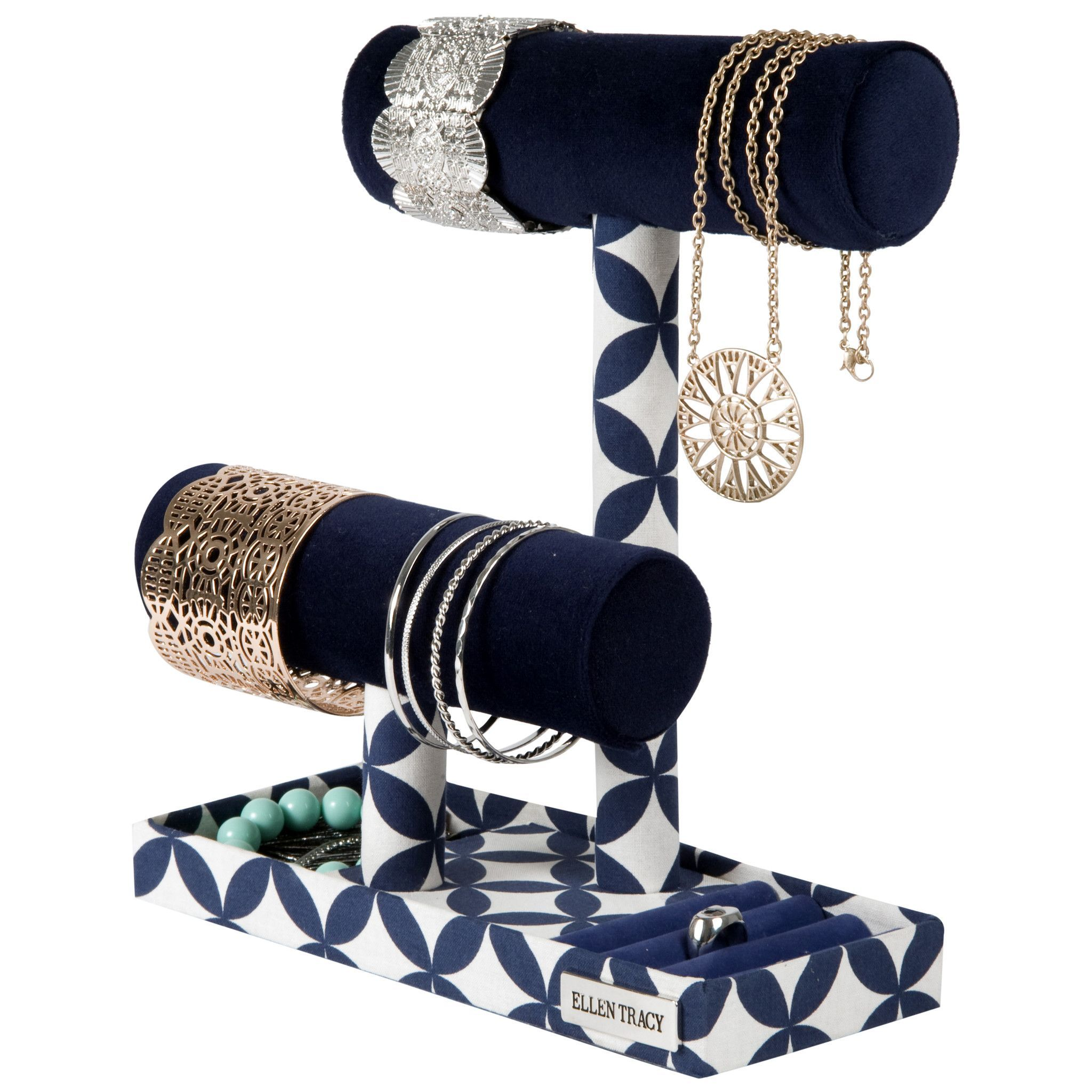 Ellen Tracy Double Bar Jewelry Stand Products Pinterest