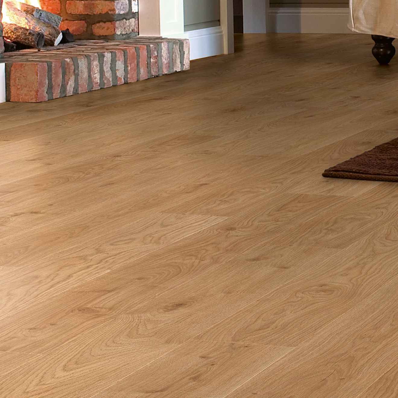 Awesome Natural Oak Effect Laminate Flooring Part - 9: Andante Natural White Oak Effect Laminate Flooring 1.72 M² Pack |  Departments | DIY At Bu0026Q