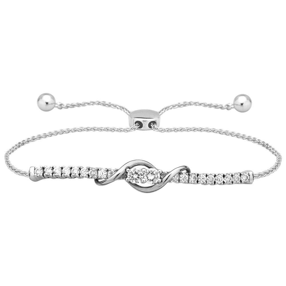 Sterling 90 Ct Diamond Forever Us Two