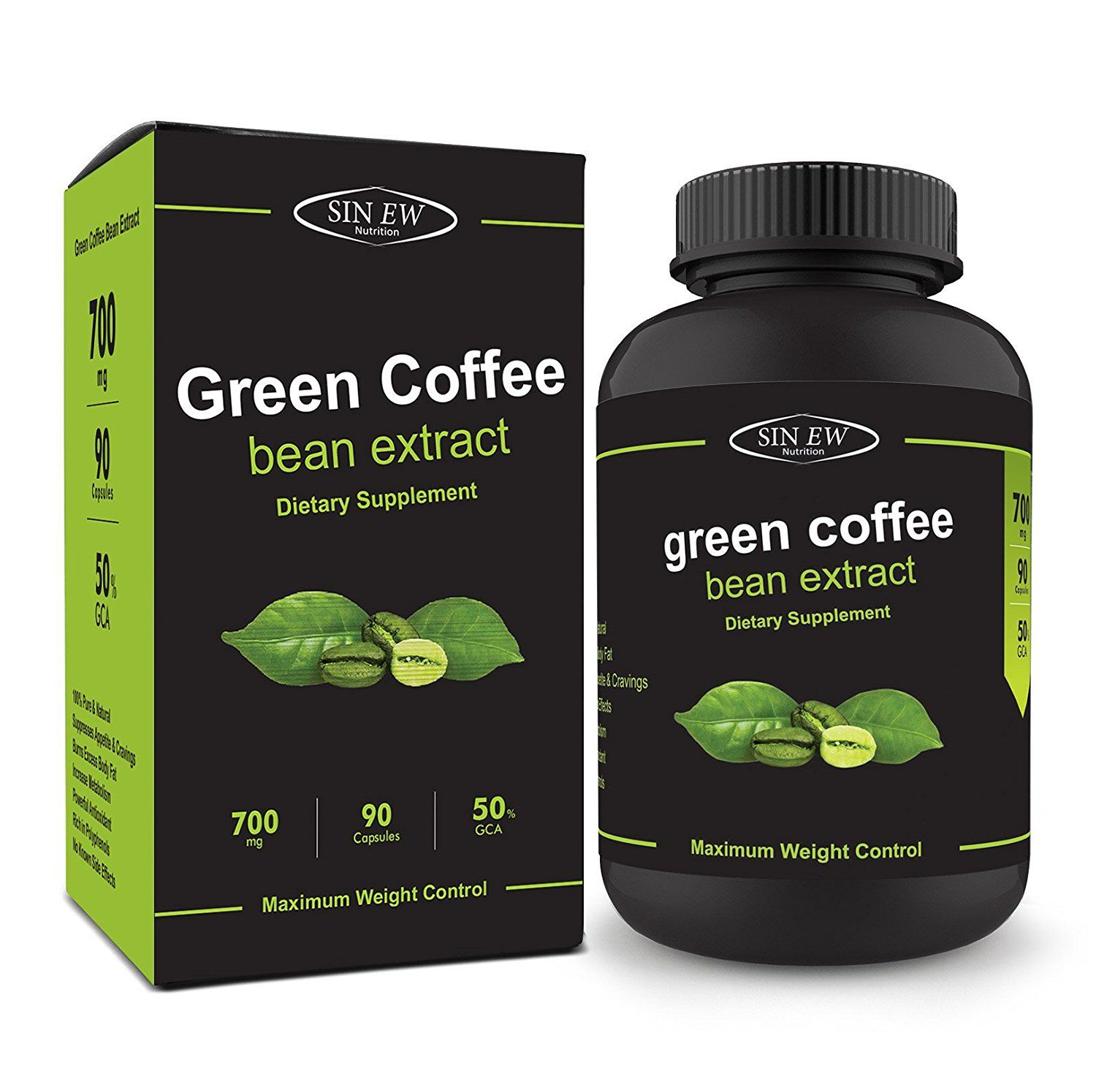 Sinew green coffee bean extract, has proven to be weight