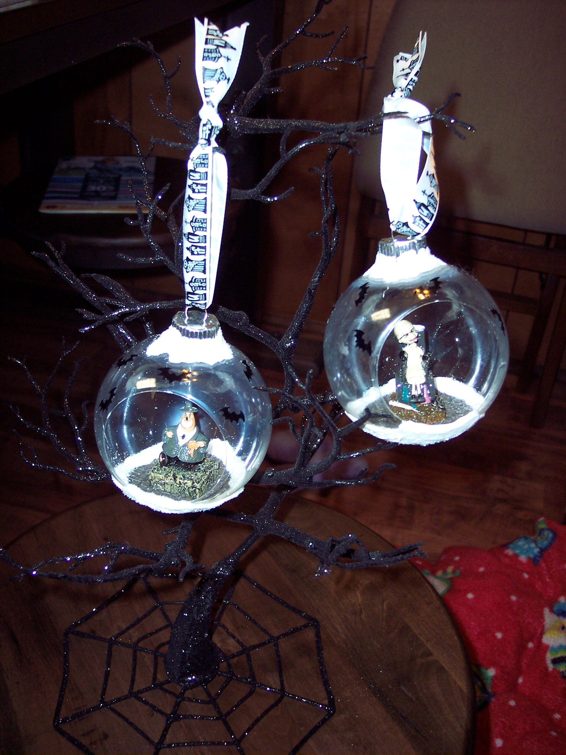 Nightmare Before Christmas Ornaments-Mayor and Scientist | Enchanted ...