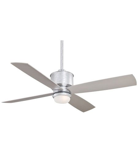 Minka-Aire Strata 1 Light 52in Ceiling Fan in Galvanized F734-GL photo